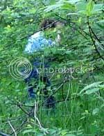 Tina in woods