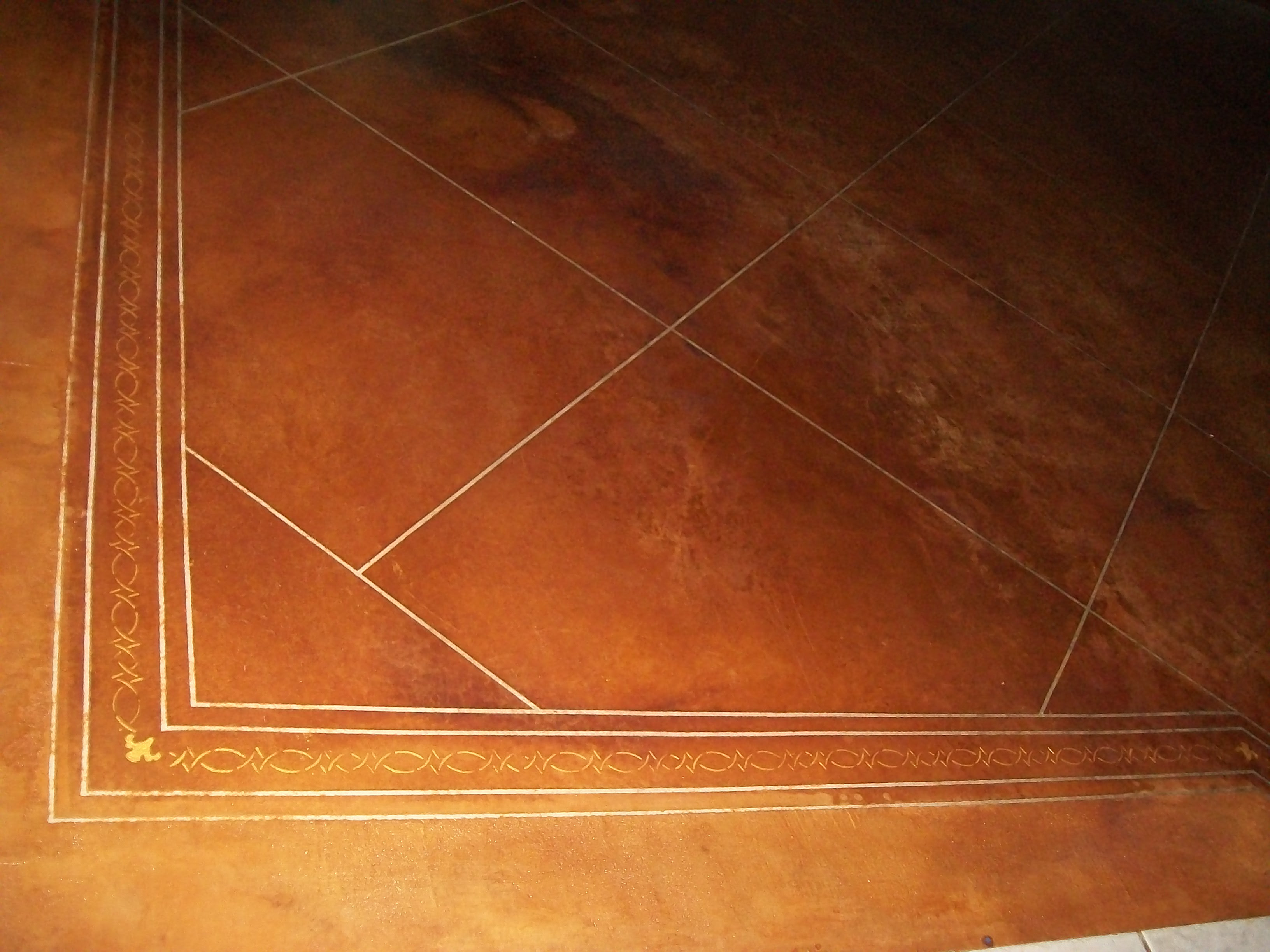 Diy Concrete Stained Flooring A Thrifty Mom Recipes Crafts Diy