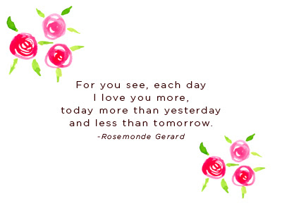 For You See Each Day I Love You Moe Today More Than Yesterday And