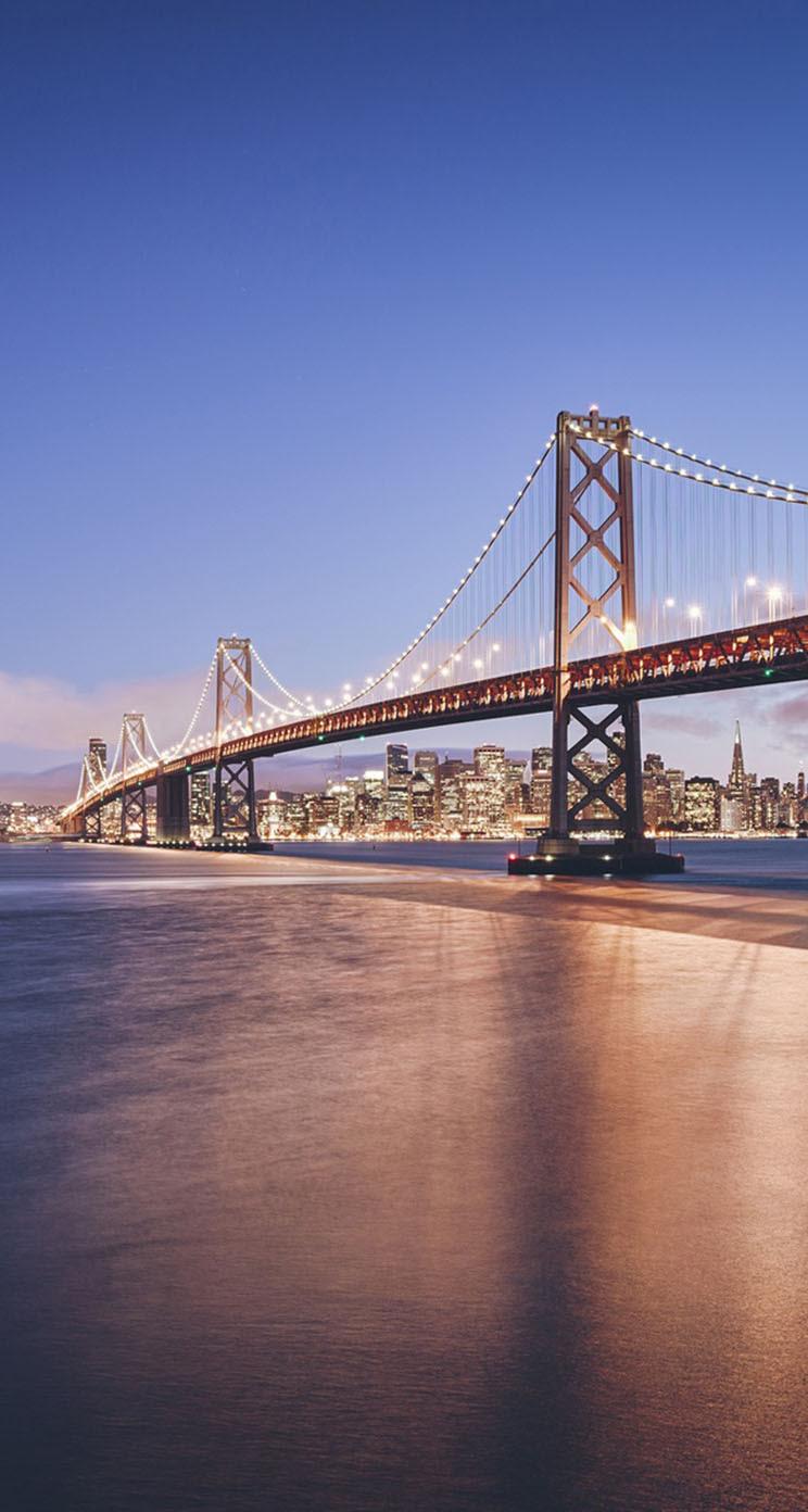 The Iphone Wallpapers California Golden Gate Bridge