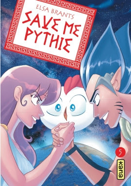 Couverture Save me Pythie, tome 5