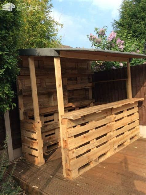 epic pallet bar ideas  embrace   event