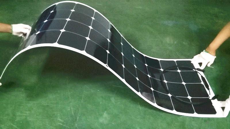 células solares flexíveis