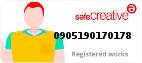 Safe Creative #0905190170178