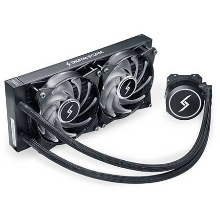 H20: Stage 2: Digital Storm Vortex 240mm Radiator Liquid CPU Cooler (Extreme-Performance Edition)