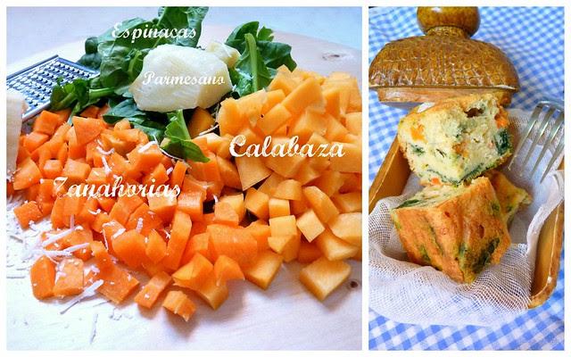 1Cake Parmesano y verduras