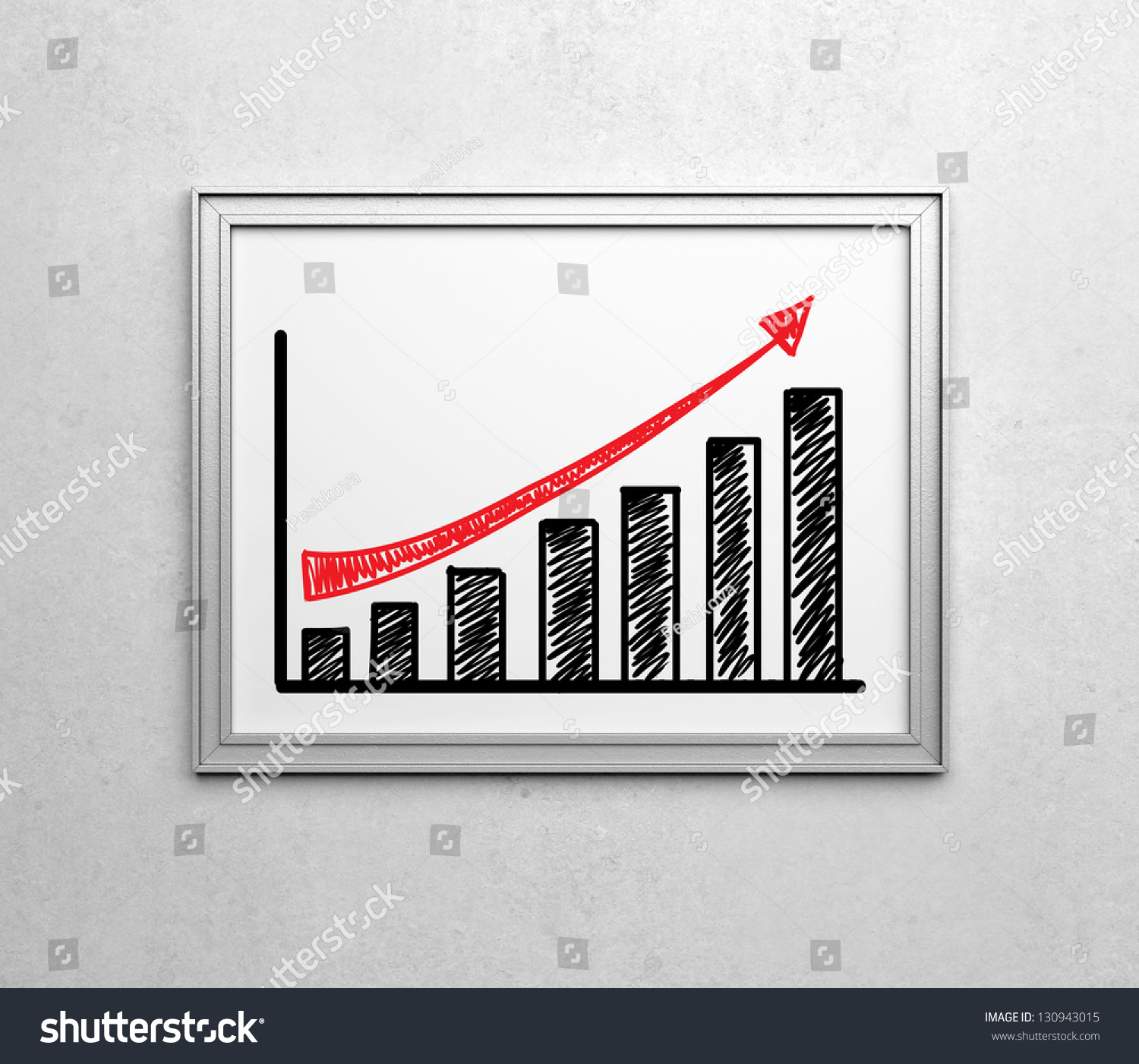 Growth Chart With Picture Frames