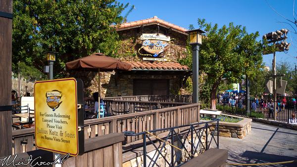 Disneyland Resort, Disney California Adventure, Blue, Sky, Cellar