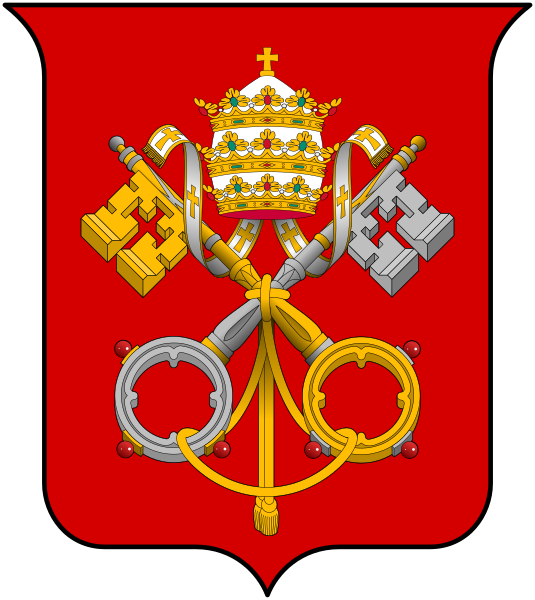 File:Coat of arms Holy See.svg