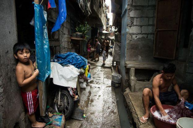 Tondo, em Manila