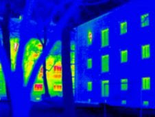 Thermal image of structure