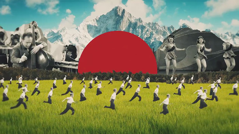 The Collages of Joseba Elorza Set in Motion for Air Reviews Young surreal music video collage