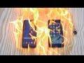 ၾကည့္ရႈသူမ်ားျပားလာတ့ဲ Galaxy S8 နဲ ့ iPhone 7 Plus ကို ဓာတ္ဆီေလာင္းျပီး မီးရွိ႕စမ္းသပ္ျပသခ့ဲတ့ဲ (ဗီဒီယိုဖိုင္)