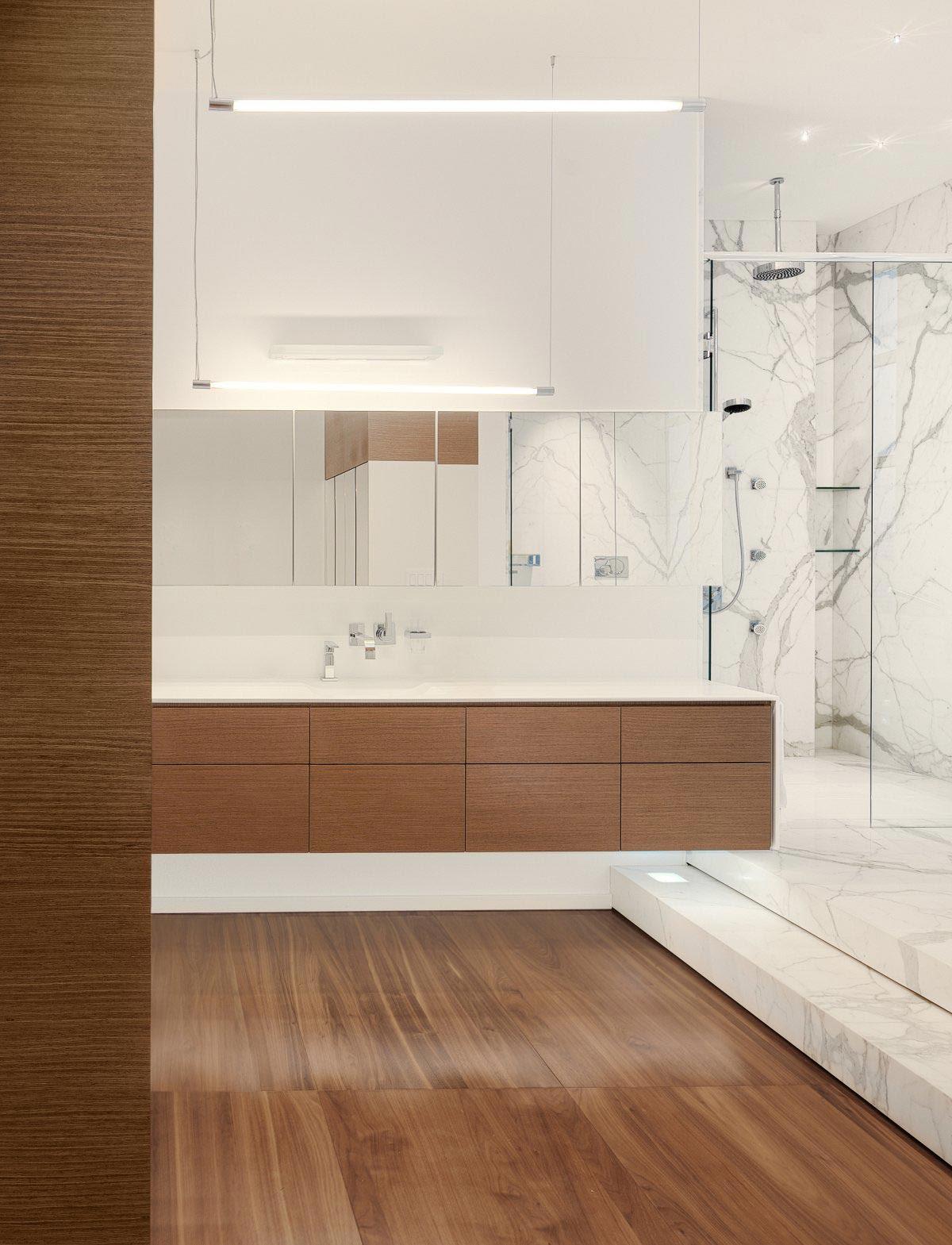 Bathroom, Marble Tiles, Lighting, Yorkville Penthouse II in