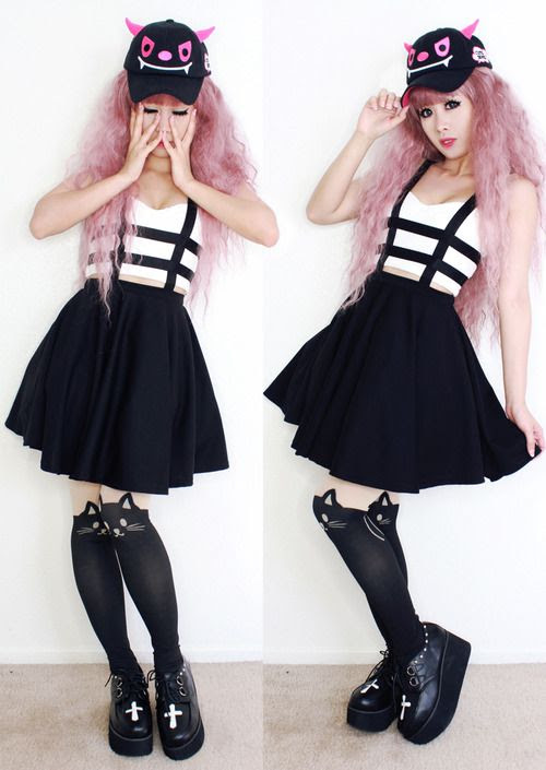 doll delight pastel goth fashion  pastelnu goth grunge