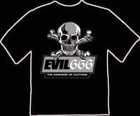 T shirt 666
