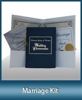 South Carolina Notary Marriage Kit l Marriage Kit for