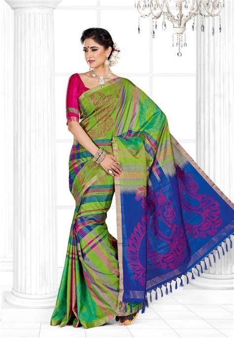 9 New Collection of Pothys Sarees in 2018 with Pictures