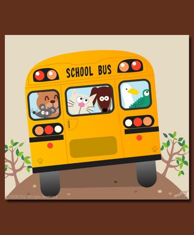 school bus - autobus de colegio