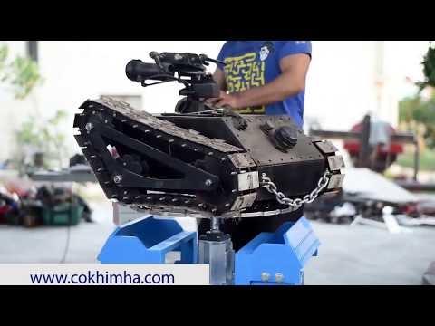 Chế tạo máy bàn xoay đa năng cơ khí