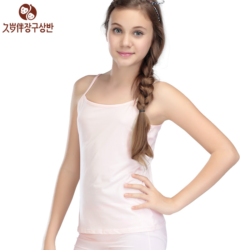 Girls cotton camis for