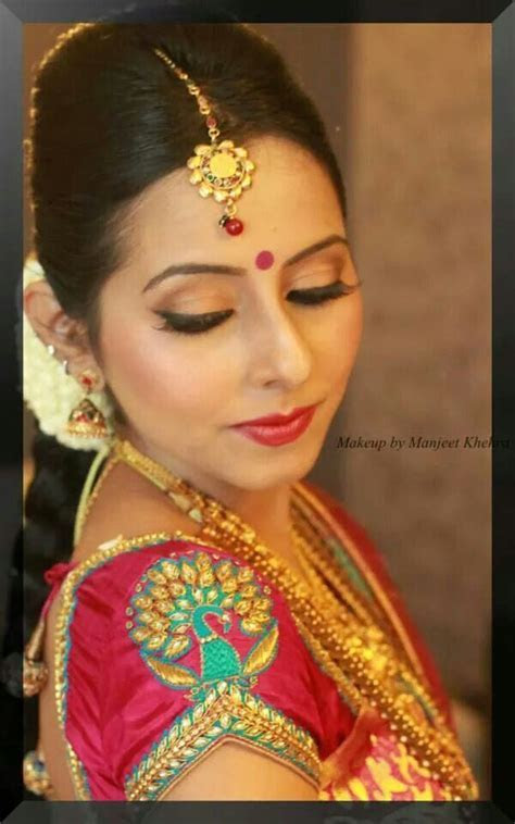 South Indian Bridal Saree Blouse Designs #BridalBlouse #