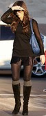 Kate Beckinsale  MicroMini Con Botas