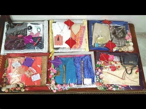 Beautiful Gift Packing Ideas for Wedding Trousseau, Saree