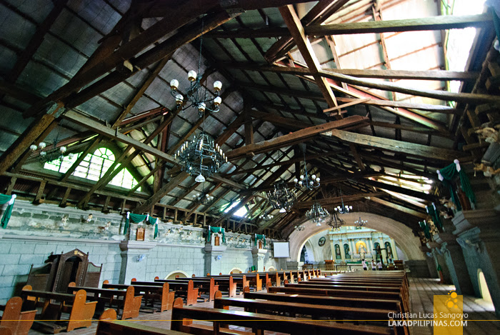 Inside Pampanga's Bacolor Church