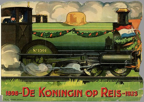 1898-De koningin op reis-1923, published in Amsterdam, 1923