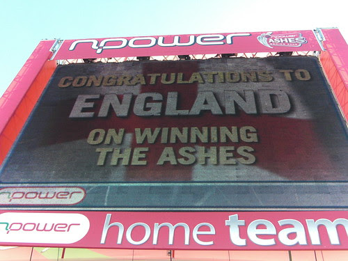 The day we won the Ashes