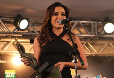 Anitta é homenageada na Festa Nacional da Música - Graça Paes/Foto Rio News