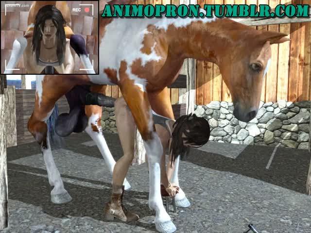 Horse porn anime Bestiality Horse