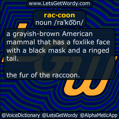 raccoon 09/30/2017 GFX Definition