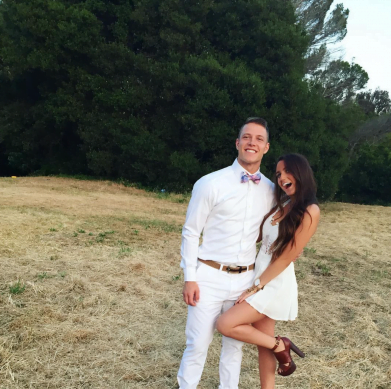 Christian McCaffrey Girlfriend Brooke Pettet photos