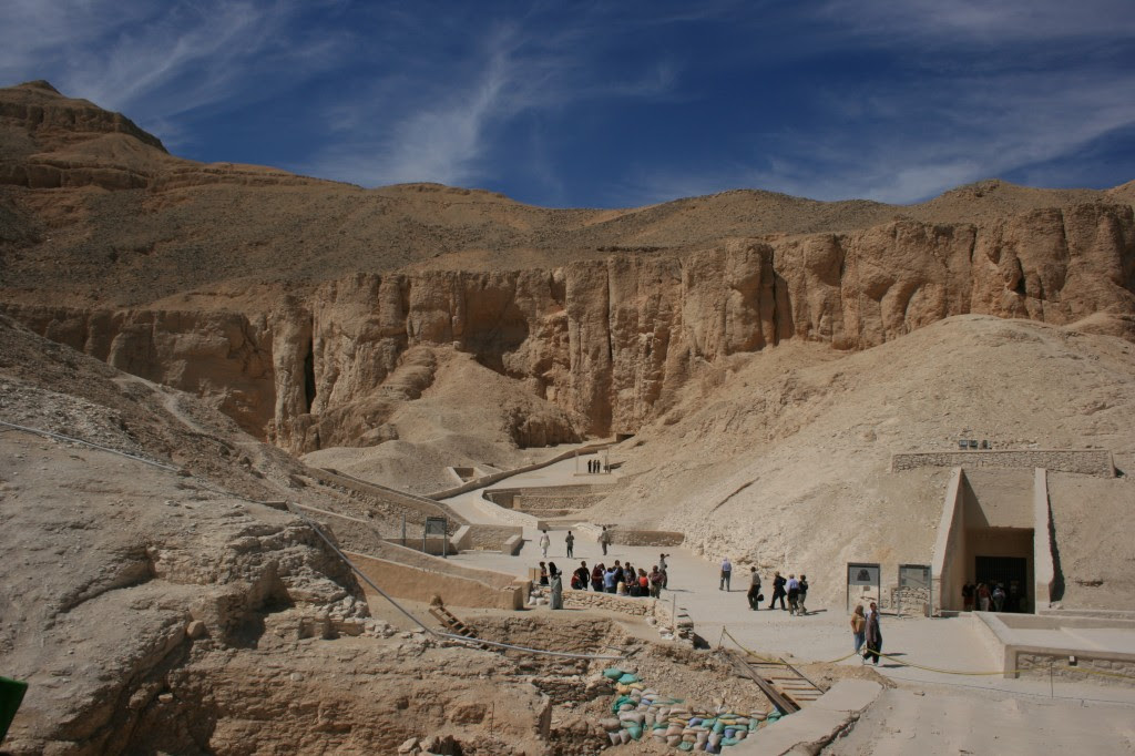 The Valley of the Kings in Luxor, Egypt. Photo by Flickr user Supermac1961