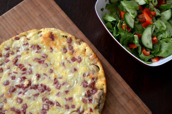 пицца домашняя рецепт с фото