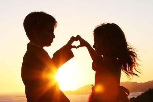 amor, childhood, children, cute, hands, heart