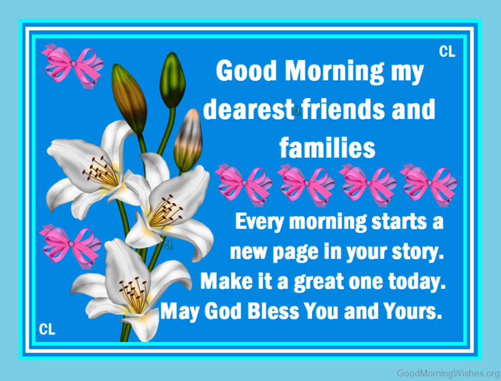 16 Good Morning Dear Wishes