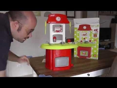 Cucine giocattolo, unboxing e montaggio