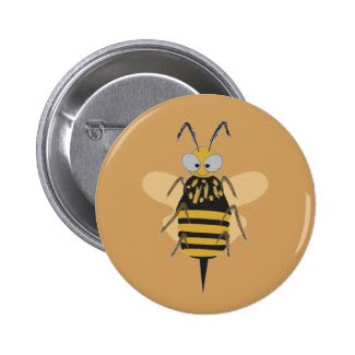 Fun Bumblebee Button