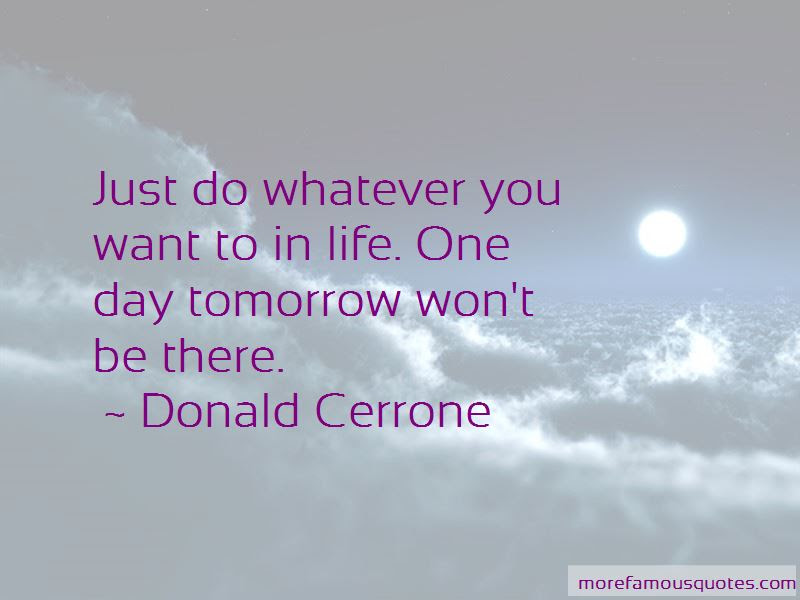 Just Do Whatever You Want Quotes Top 56 Quotes About Just Do