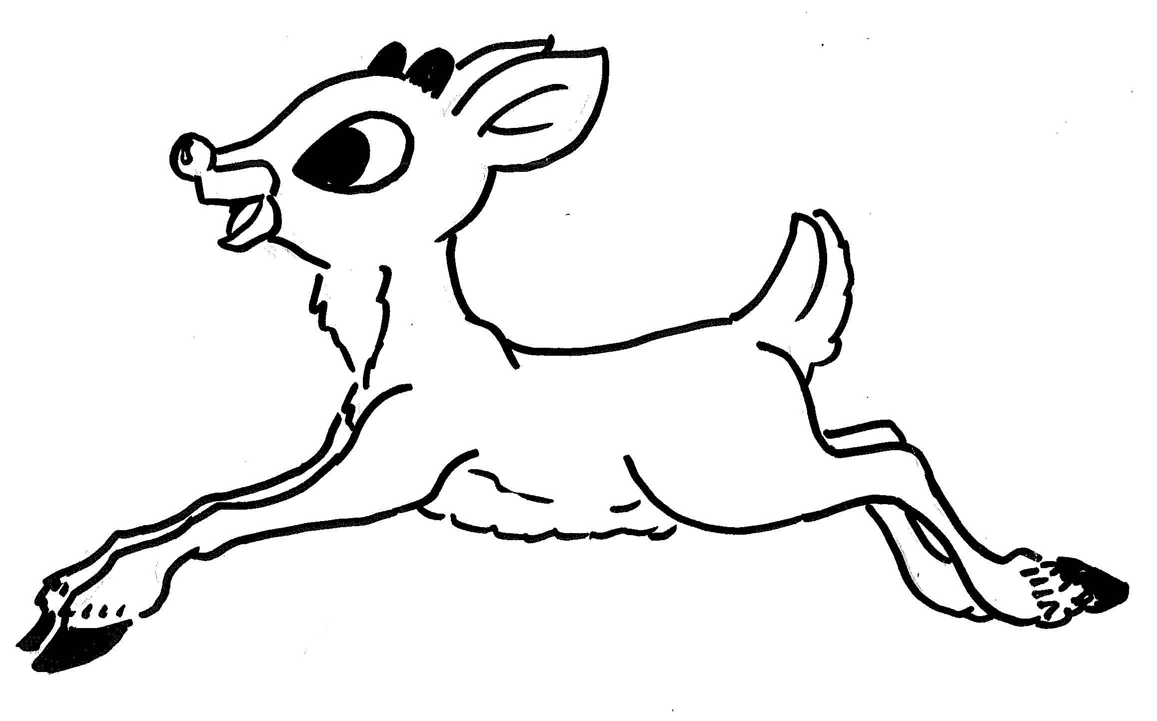 - Reindeer Coloring Pages To Download And Print For Free - Coloring
