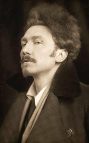 The young Ezra Pound