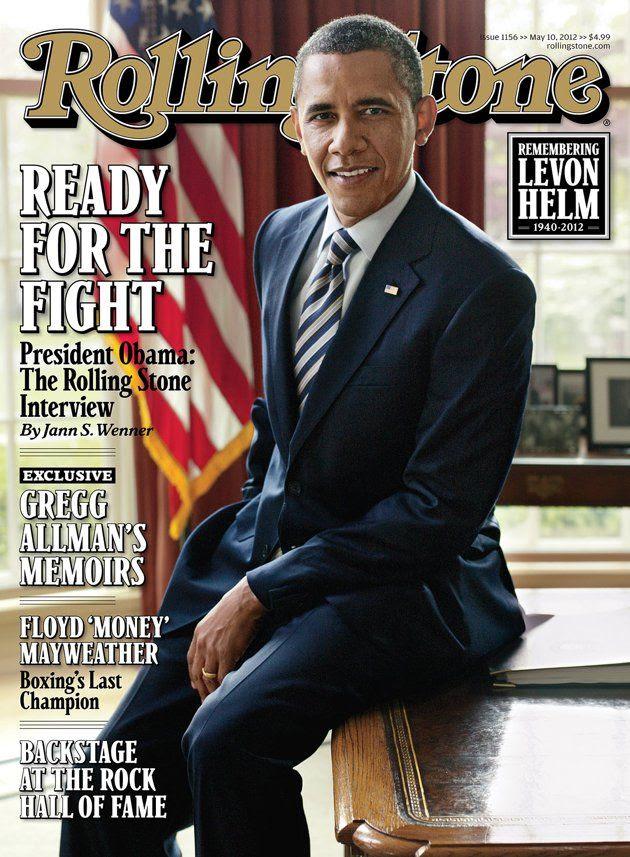 Rolling Stone - May 10, 2012, Barack Obama