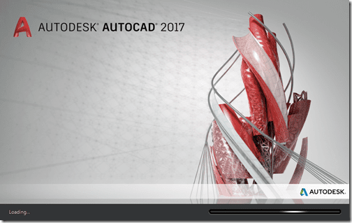 AutoCAD 2017 splash