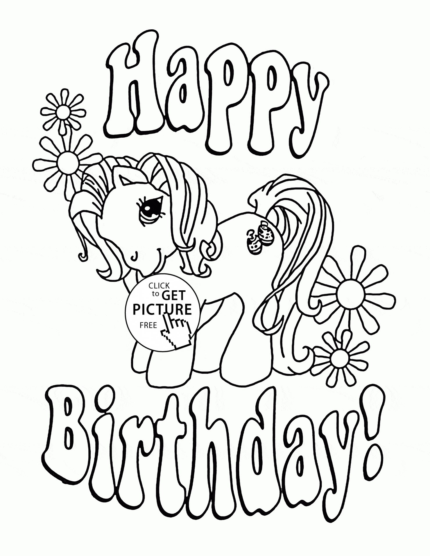 Happy Birthday Grandpa Coloring Page at GetDrawings | Free ...