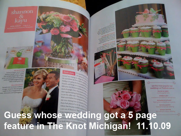 Shannon & Kayu's Feature in The Knot
