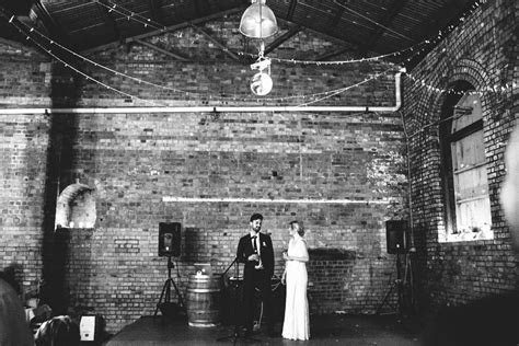 Emily & Andy's Industrial Chic Wedding   nouba.com.au