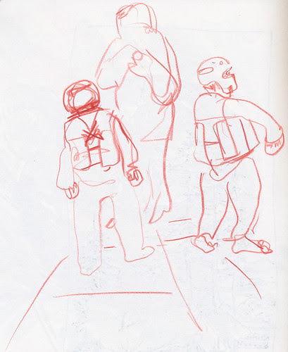 January 2014: My Life Drawing Class - Dressed Up by apple-pine